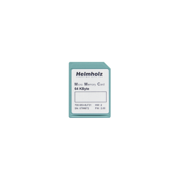 Micro Memory Card, 64 kByte